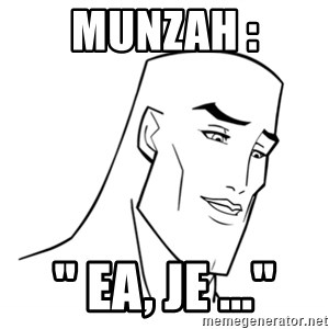 "Handsome Face - Munzah : "" EA, Je ..."""