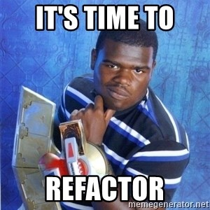 yugioh - It's time to refactor