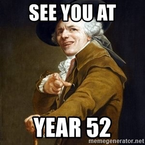 Joseph Ducreaux - see you at year 52