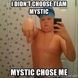 Swagmaster - I didn't choose Team Mystic Mystic chose me