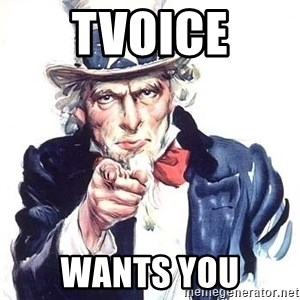 Uncle Sam - tvoice wants you