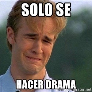 Crying Man - SOLO SE HACER DRAMA