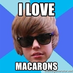 Just Another Justin Bieber - I LOVE MACARONS