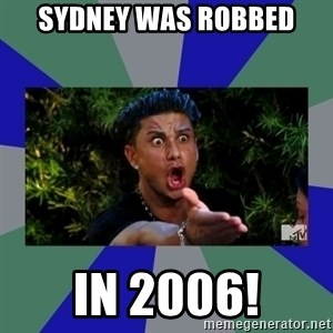 jersey shore - sydney was robbed in 2006!