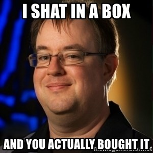 Jay Wilson Diablo 3 - I Shat in a box And you actually bought it