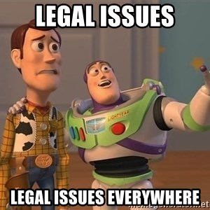 Anonymous, Anonymous Everywhere - legal issues legal issues everywhere