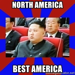 kim jong un - north america best america