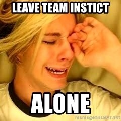 leave britney alone - Leave team instict ALONE