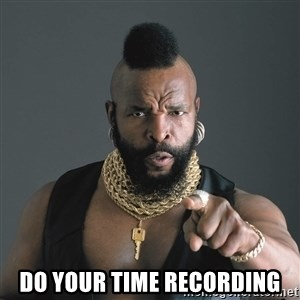 Mr T Fool -  Do your Time recording