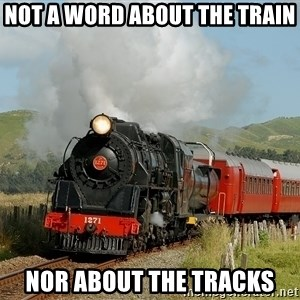 Success Train - Not a word about the train Nor about the tracks