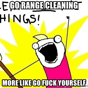 clean all the things - Go range cleaning More like go fuck yourself