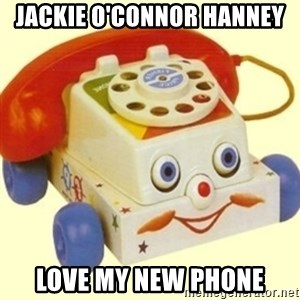 Sinister Phone - Jackie O'Connor Hanney Love my new phone
