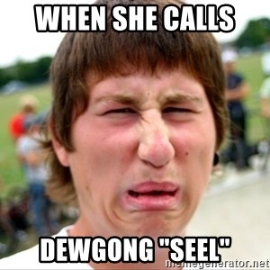 "Disgusted Nigel - When she calls  Dewgong ""Seel"""