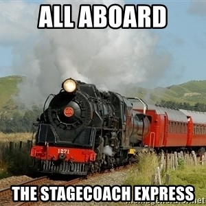 Success Train - All Aboard The stagecoach express