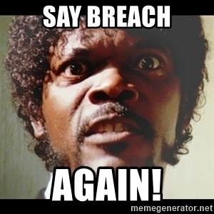 Samuel L Jackson meme - SAY Breach Again!