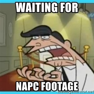 This is where I'd put my X... IF I HAD ONE - Waiting for  napc footage