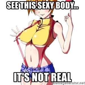 pokemon GIRL - see this sexy body... it's not real