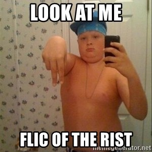 Swagmaster - look at me flic of the rist
