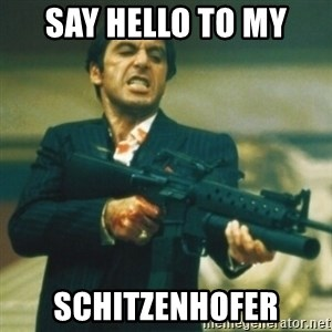 Tony Montana - Say hello to my Schitzenhofer