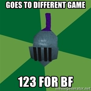 Runescape Advice - Goes to different game 123 for bf