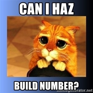 puss in boots eyes 2 - Can I haz build number?