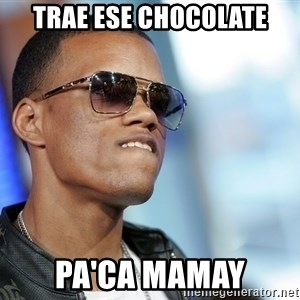 Dat Ass - Trae ese chocolate Pa'ca mamay