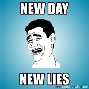 Laughing Man - new day new lies