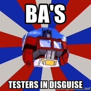 Optimus Prime - BA'S TESTERS IN DISGUISE