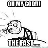 Cereal Guy Spit - OH MY GOD!!! The Fast.....