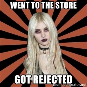 GirlPostHardcore - Went to the store Got rejected