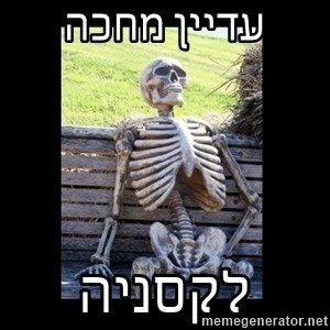 Still Waiting - עדיין מחכה לקסניה