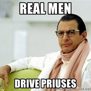 Jeff Goldblum - Real Men Drive Priuses