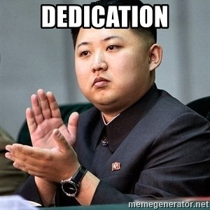 Kim Jong Un Clap - Dedication