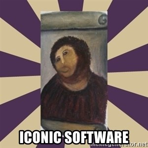 Retouched Ecce Homo -  ICONIC SOFTWARE