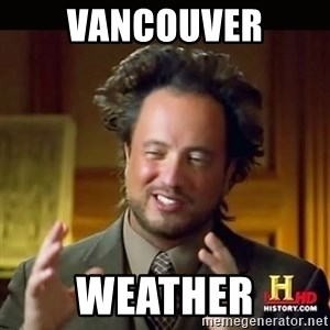 History guy - Vancouver Weather
