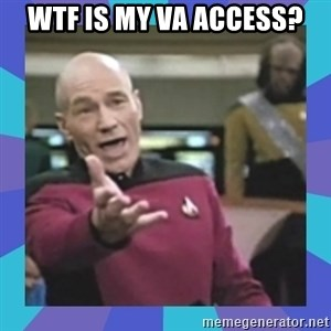 what  the fuck is this shit? - WTF is my VA access?