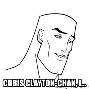 Handsome Face -  Chris clayton-chan, I...