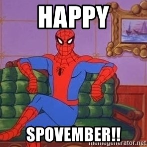 spider manf - Happy Spovember!!