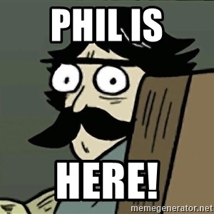 StareDad - phil is here!