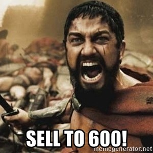 300 -  SELL TO 600!