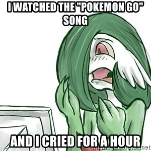 """Pokemon Reaction - I watched the """"pokemon go"""" song and i cried for a hour"""