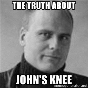Stefan Molyneux  - The Truth About John's Knee