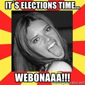 La Tipa Hueca - it´s elections time... webonaaa!!!