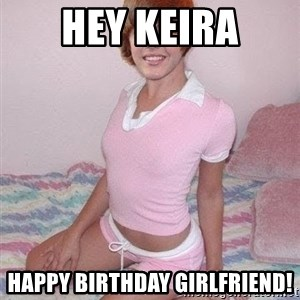 Justine Bieber - Hey Keira Happy Birthday Girlfriend!
