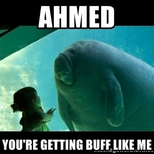 Overlord Manatee - Ahmed You're getting buff like me