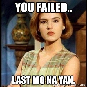 Angelica Santibañez - YOU FAILED.. LAST MO NA YAN.