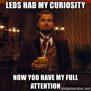 you had my curiosity dicaprio - leds had my curiosity now you have my full attention
