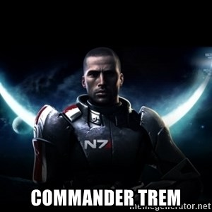 Mass Effect -  Commander Trem