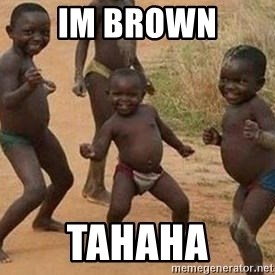 african children dancing - im brown TAHAHA