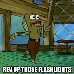 Rev Up Those Fryers -  Rev up those Flashlights